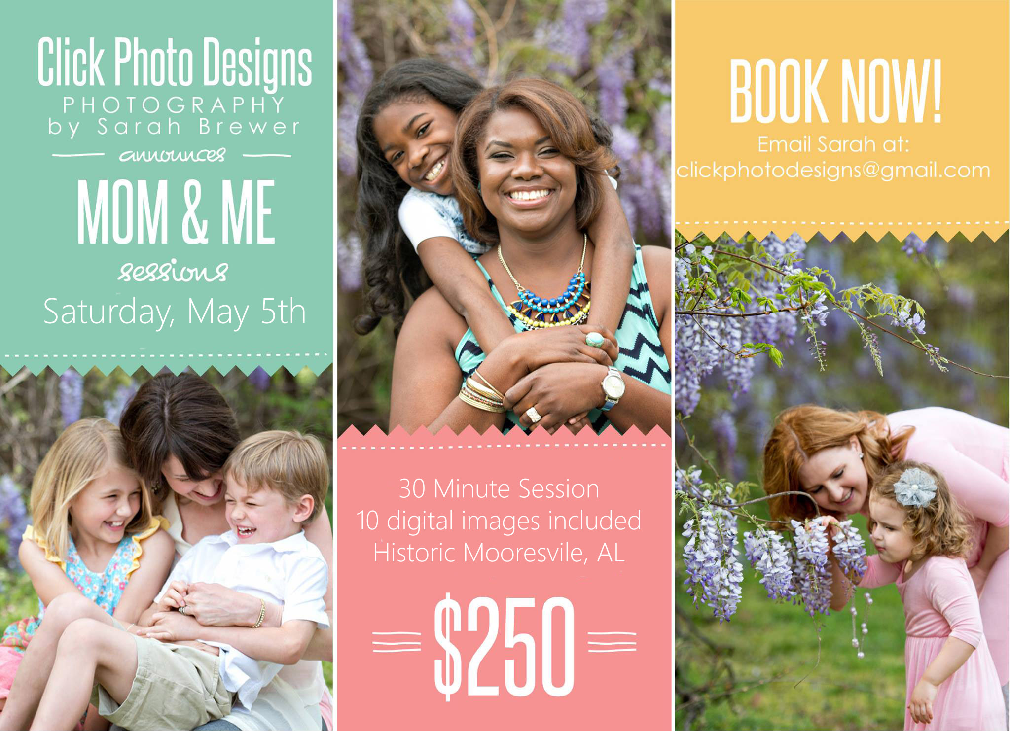 Mom & Me MiniSessions May 5th!